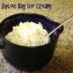 Easy Ziploc Bag Ice Cream