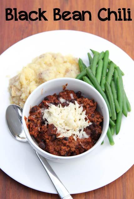 Black Bean Chili Recipe  5DollarDinners.com