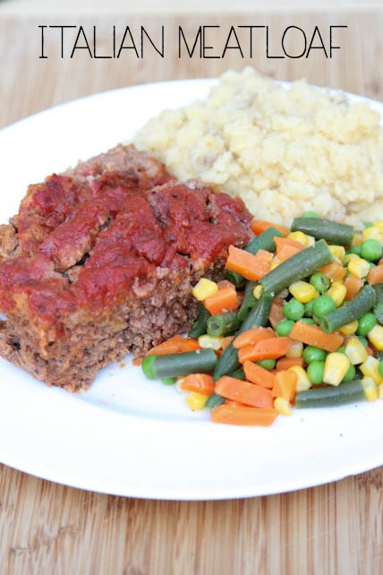 Italian Meatloaf on 5DollarDinners.com