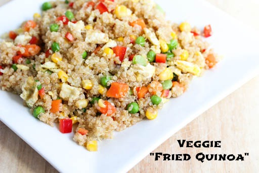 Veggie Fried Quinoa1 Veggie Fried Quinoa