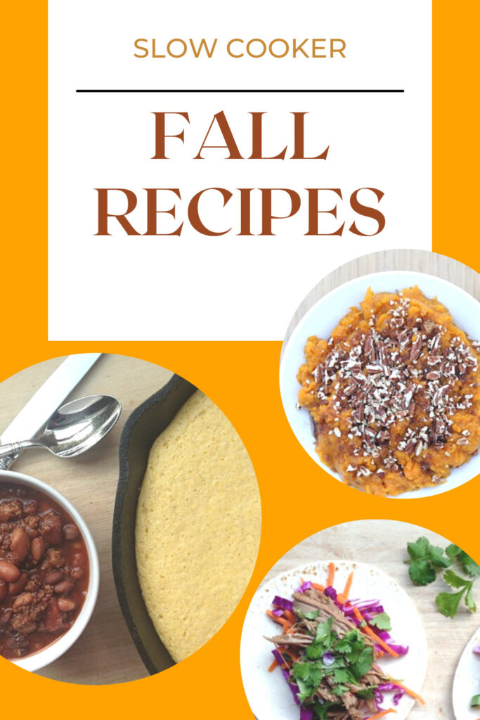 fall comfort meals for the slow cooker