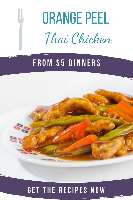 orange peel thai chicken