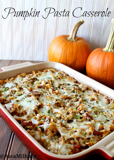 Pumpkin Pasta Casserole Recipe