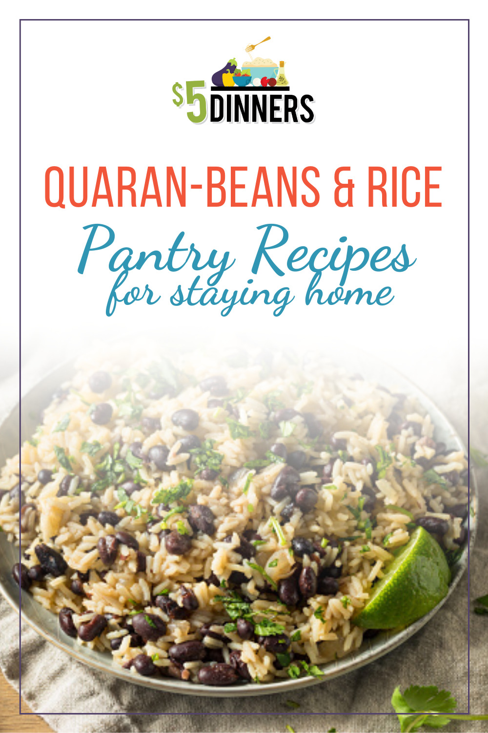 rice and beans pantry recipes