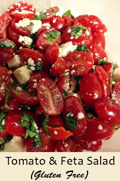 Tomato & Feta Salad | 5DollarDinners.com
