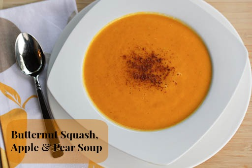 Butternut Apple & Pear Soup