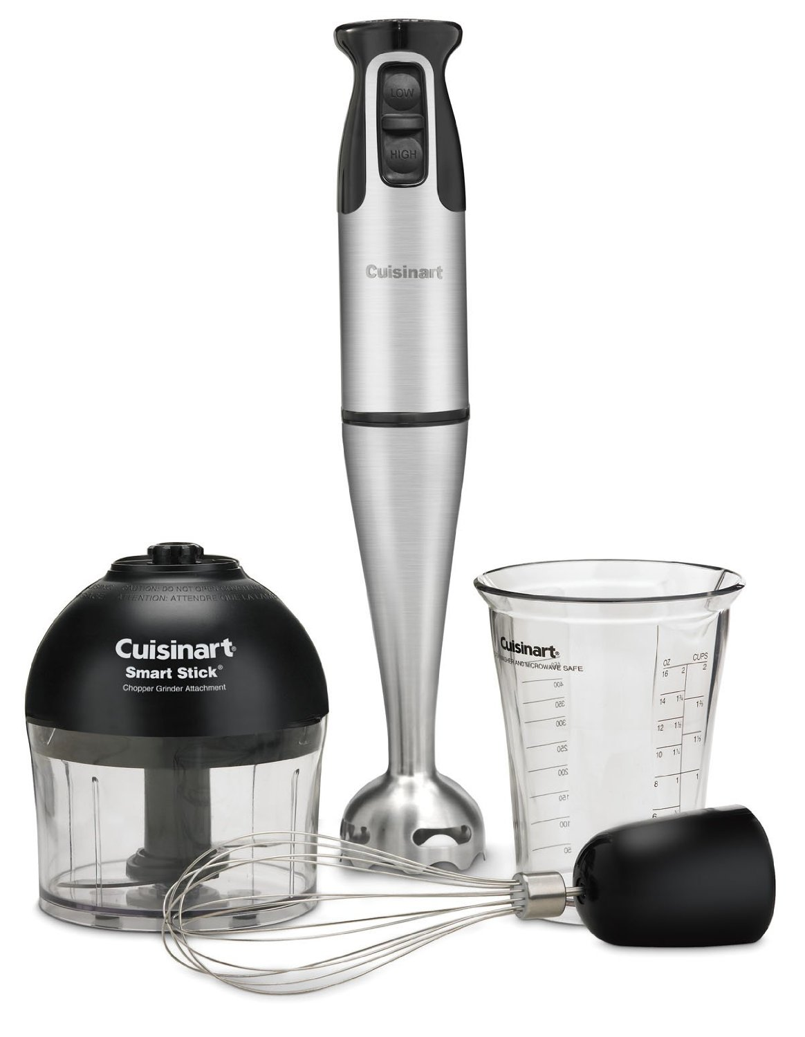 Cuisinart CSB-79 Smart Stick 2-Speed 200-watt Immersion Hand Blender with Attachments