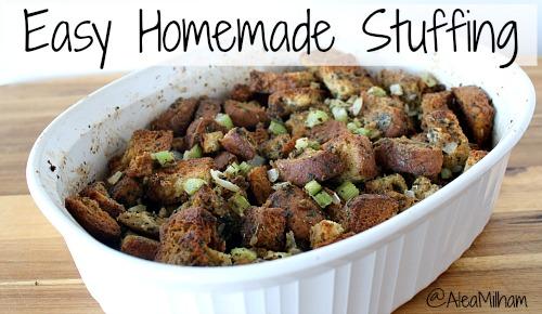 Easy Homemade Stuffing Recipe
