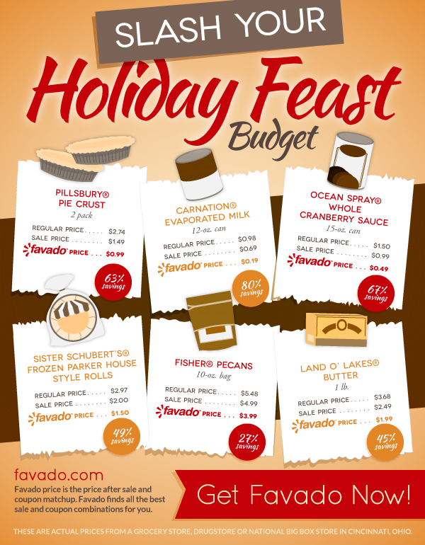 Favado Thanksgiving Feast Savings