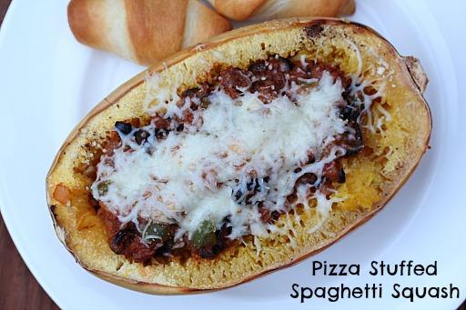 Pizza Spaghetti Squash
