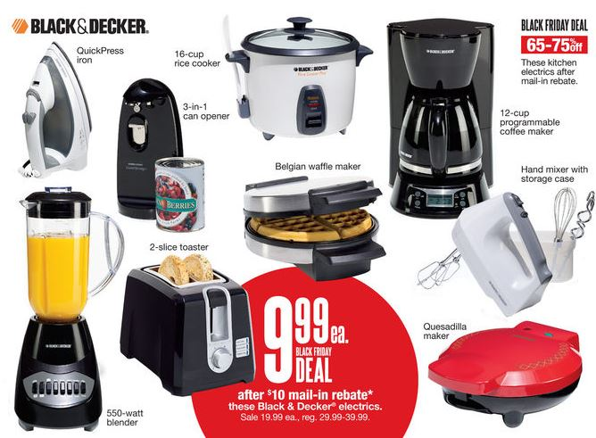 kohls black and decker black friday