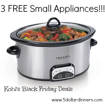slow cooker kohls deal BF