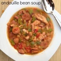 Cajun Turkey Andouille Bean Soup