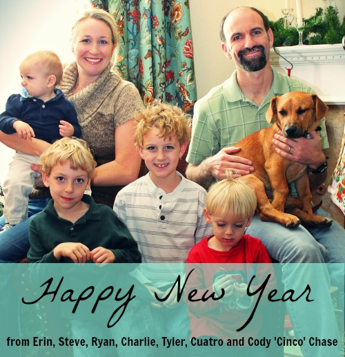 Happy New Year from the Chases