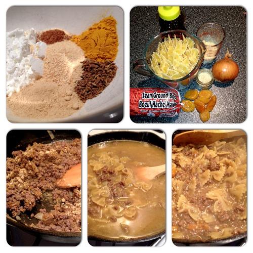moroccan beef skillet dinner