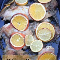 Citrus-Rosemary Roasted Chicken Recipe