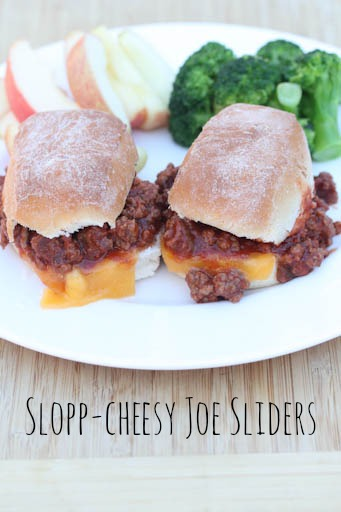 Slopp-Cheesy Joe Sliders Recipe