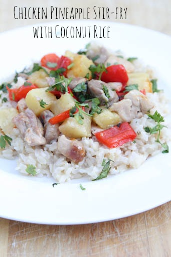 Chicken Pineapple Stirfry
