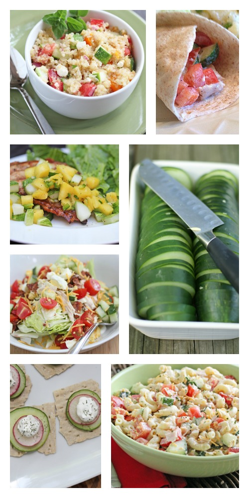Favorite Cucumber Recipes