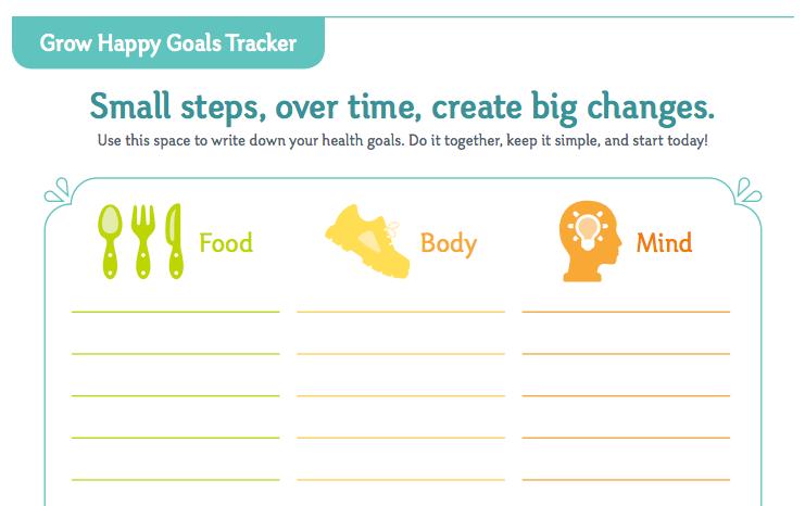 Grow Happy Goals Tracker