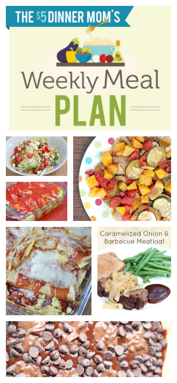 Free Weekly Meal Plan with Printable List June 15