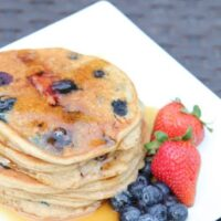 Red White Blue Pancakes | 5DollarDinners.com