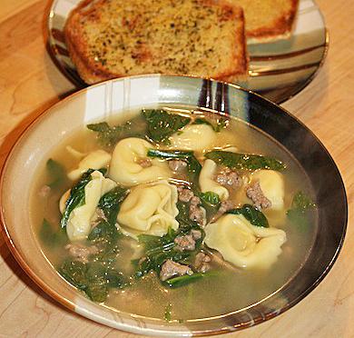 Spinach Tortellini Soup   5DollarDinners.com