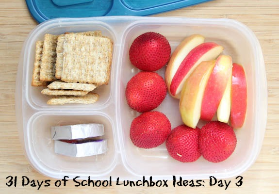 31 Days School Lunchbox Ideas - Day 3