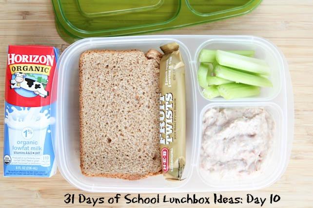 31 Days of School Lunchbox Ideas Day 10 | 5DollarDinners.com