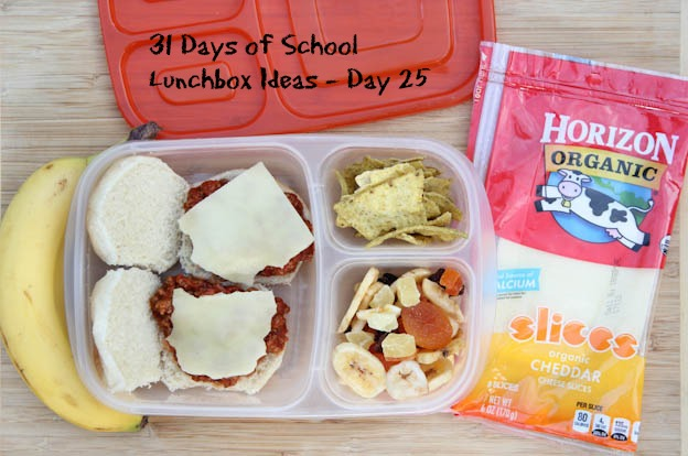 31 Days of School Lunchbox Ideas - Day 25 | 5DollarDinners.com