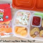 31 Days of School Lunchbox Ideas - Day 27 | 5DollarDinners.com