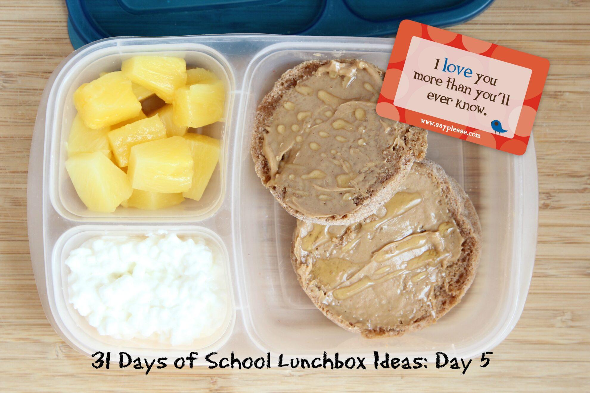 31 Days of School Lunchbox Ideas: Day 5 | 5DollarDinners.com