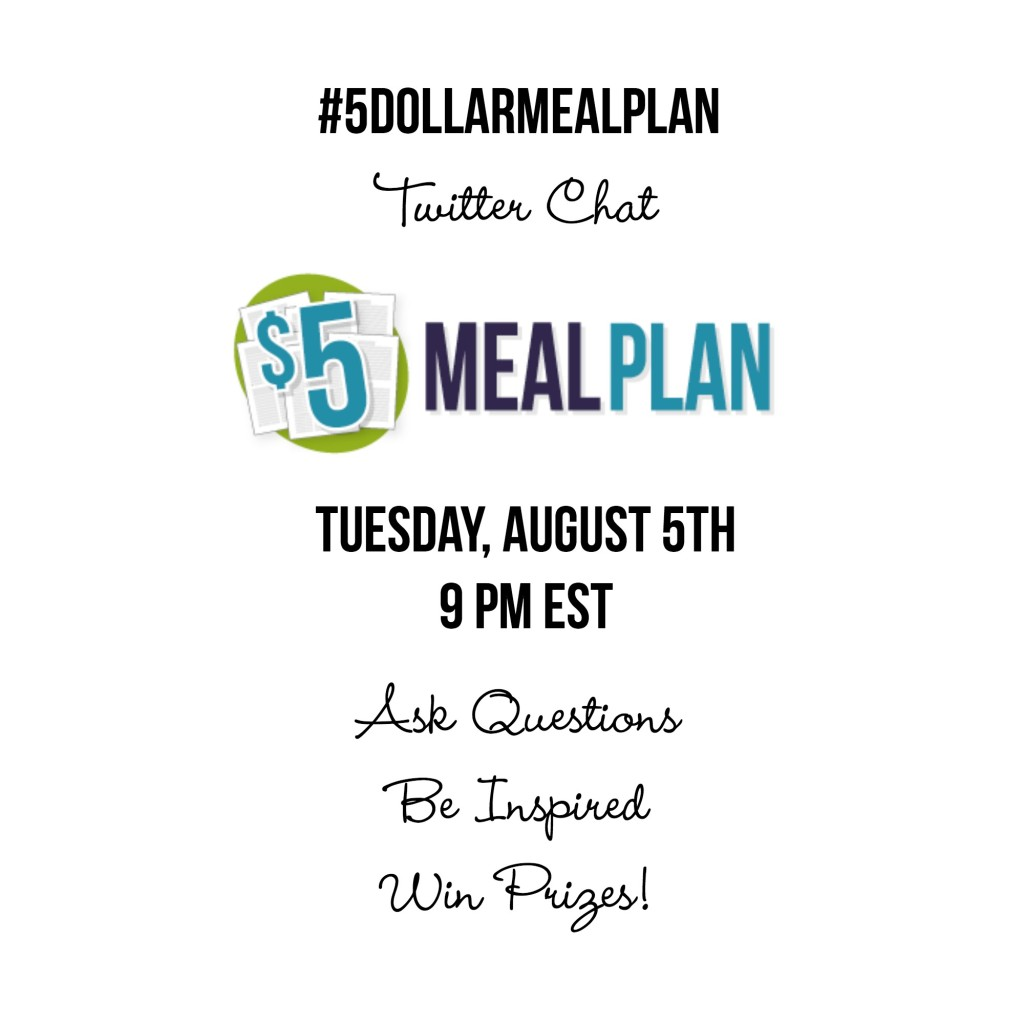 #5DollarMealPlan Twitter Chat