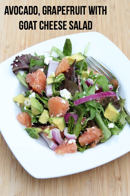 Avocado Grapefruit Salad | 5DollarDinners.com