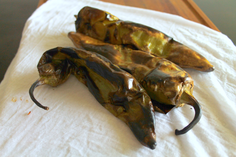How to Roast Hatch Chiles Step 4