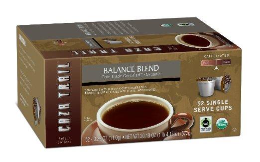 balance fair trade blend coffee