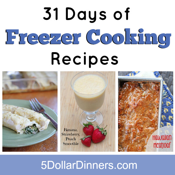 31 days of freezer cooking square