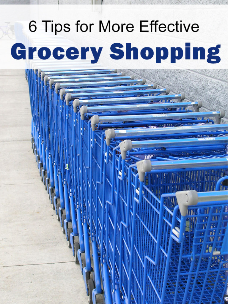 6 Tips for More Effective Grocery Shopping | 5DollarDinners.com
