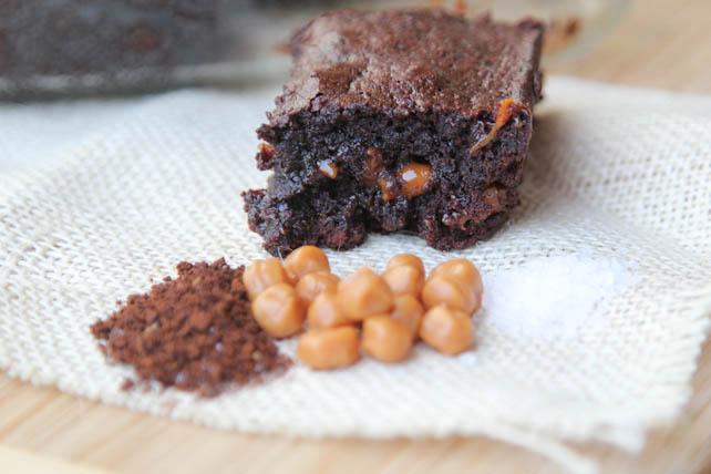 Salted Caramel Mocha Brownie Recipe