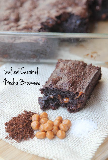 Salted Caramel Mocha Brownies Recipe | 5DollarDinners.com
