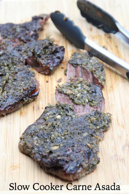 Slow Cooker Carne Asada Recipe   5DollarDinners.com
