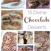 15 Divine Chocolate Recipes | 5DollarDinners.com