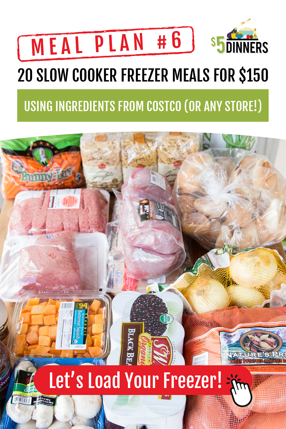 Slow Cooker Freezer Meal Plans | Slow Cooker Meal Plans