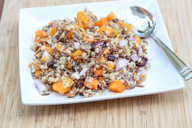 Butternut Cranberry Rice Pilaf Recipe