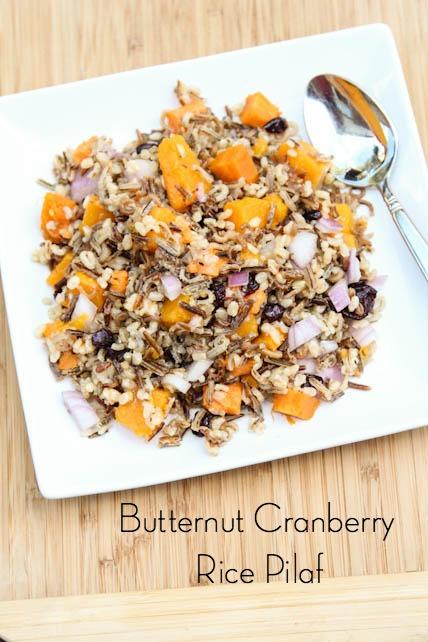 Butternut Cranberry Rice Pilaf on 5DollarDinners.com