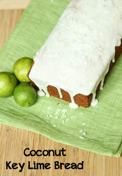 Coconut Key Lime Bread on 5DollarDinners.com