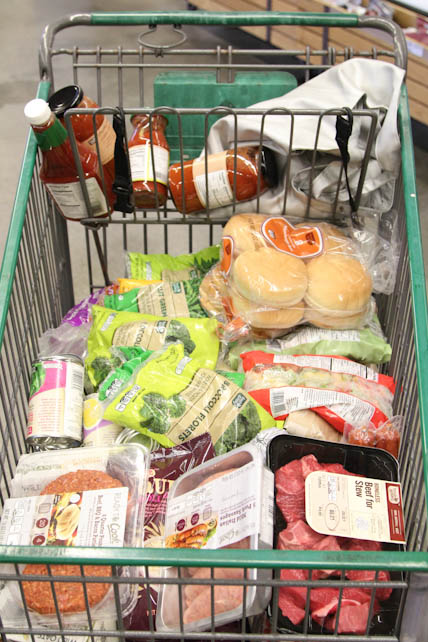 Fresh & Easy Shopping Basket