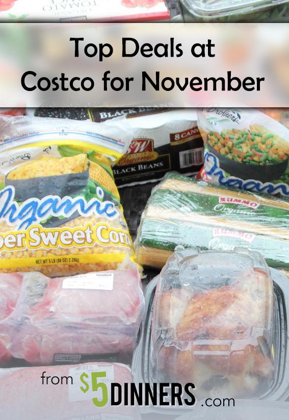Costco Top Deals for November | 5DollarDinners.com
