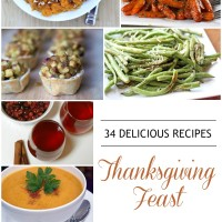34 Recipes for a Delicious Thanksgiving Feast | 5DollarDinners.com