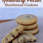 Delicate Rosemary Pecan Shortbread Recipe   5DollarDinners.com